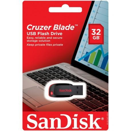 SANDISK USB FLASH DRIVE PENDRIVE CRUZER BLADE CZ50 8GB 16GB 32GB 64GB 128GB USB 2.0 SPEED FLASH DRIVE RELIABLE COMPACT