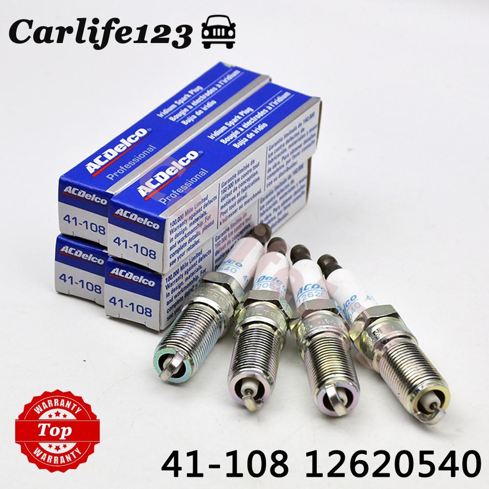 Pack of 1 ACDelco 41-108 Professional Iridium Spark Plug