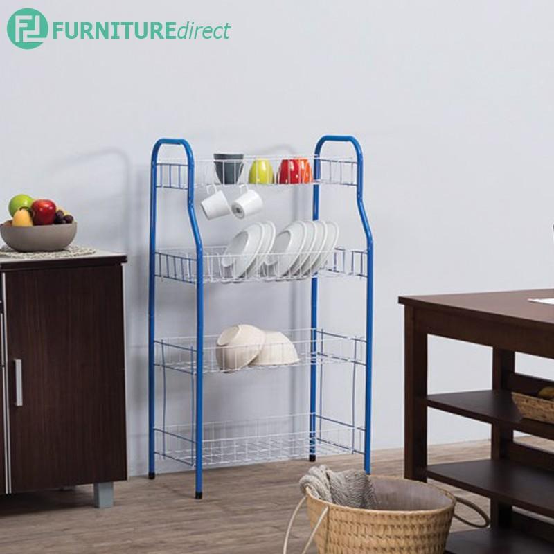 [CLEARANCE] Furniture Direct ARIF 4 tier metal kitchen storage rack