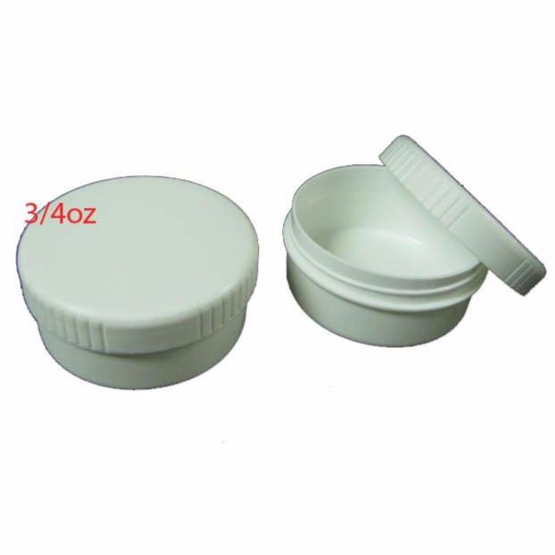 Empty Cream Container 3/4 Oz X 10 Pieces