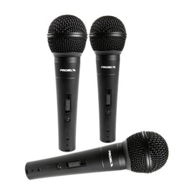 PROEL DM-800 DYNAMIC MICROPHONE WITH ON/OFF SWITCH
