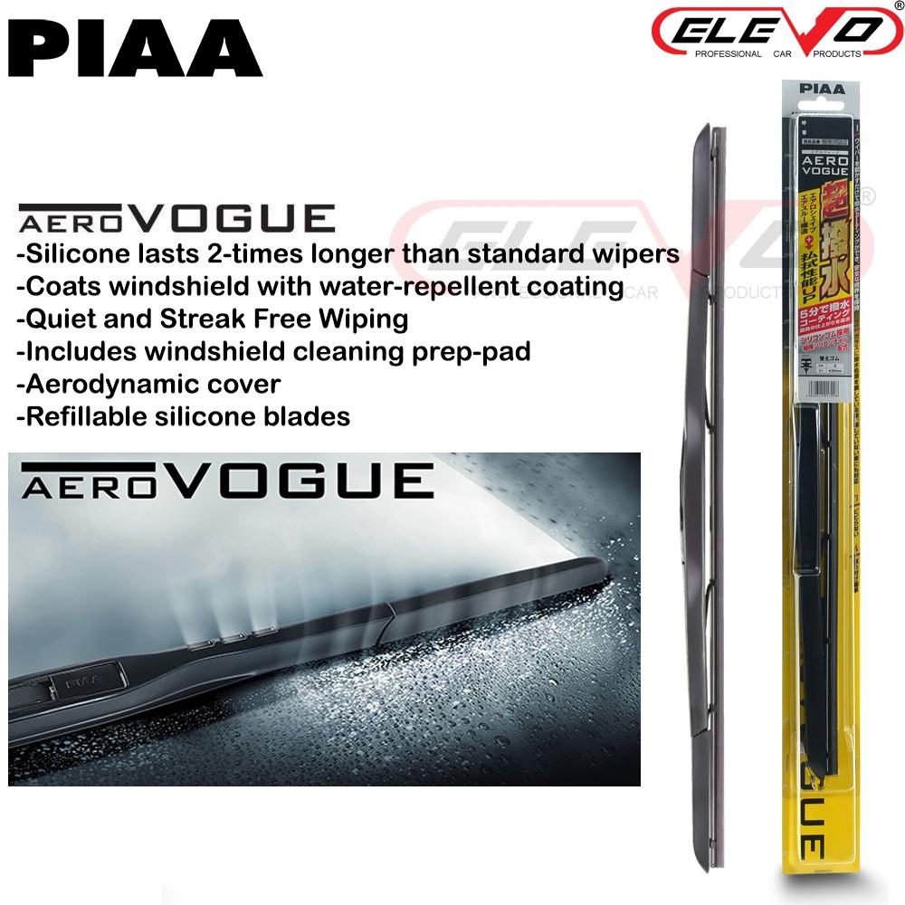 PIAA Aero Vogue Silicone Hybrid Wiper Blade 12