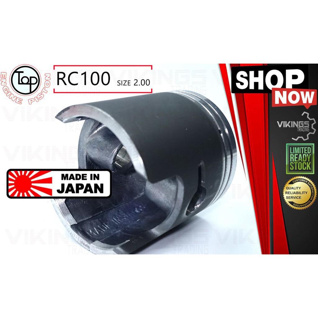 SUZUKI RC100 RC 100 JAPAN ORIGINAL IMPORT TOP STD - 2.00