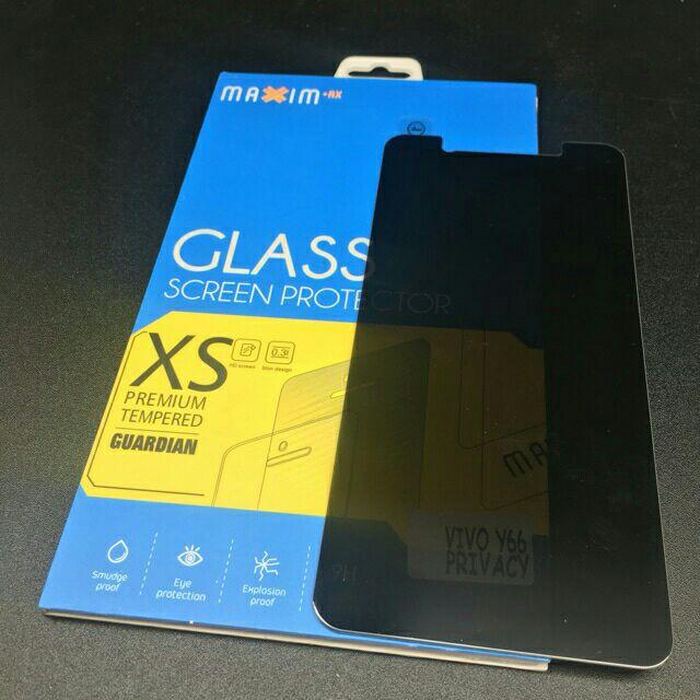 Vivo V5 V5s V5plus Y51 Y53 Y66 Y55 Privacy Tempered Glass Protector