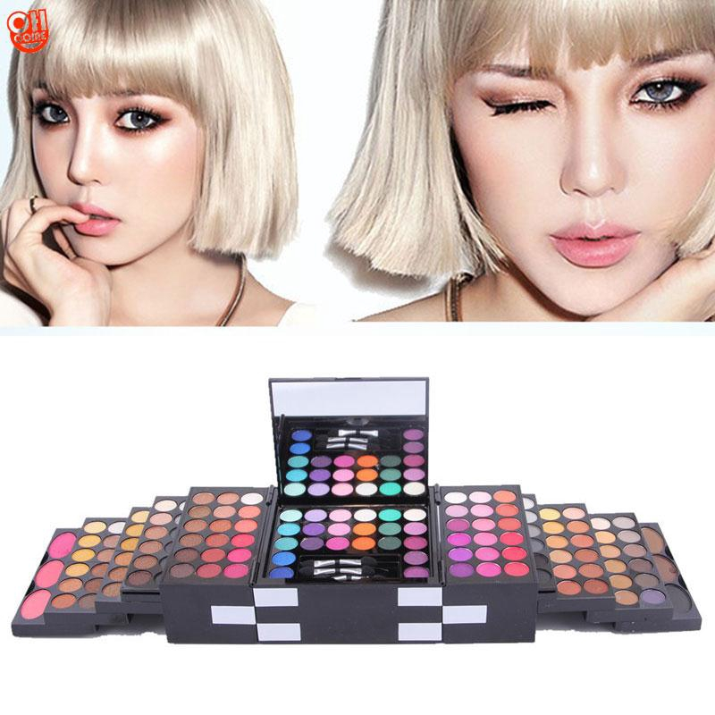 f3c10013bea7 MISS ROSE Professional 144 Colors Eyeshadow 3 Colors Powder Blush Makeup Set