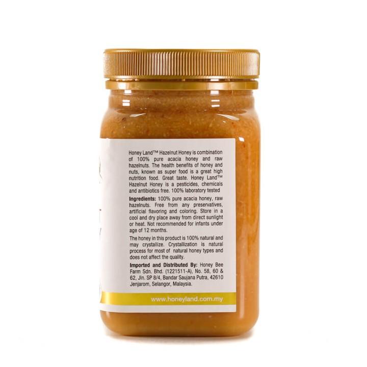 Honey Land™ – Hazelnut Honey 100% Madu Asli