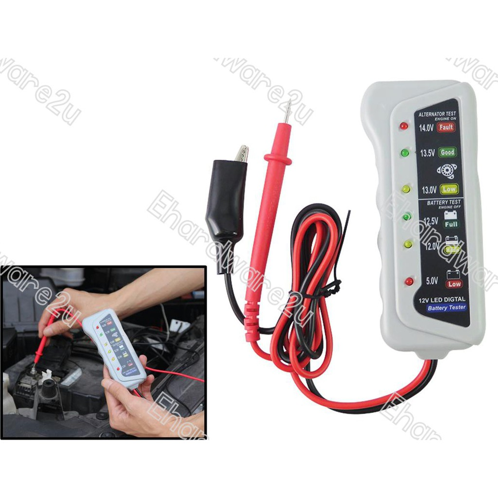 Dy2015b 12v Automotive Car Battery Tester With Printer Shopee Malaysia Data Sensoroxygen Sensor Circuit Automotivecircuit