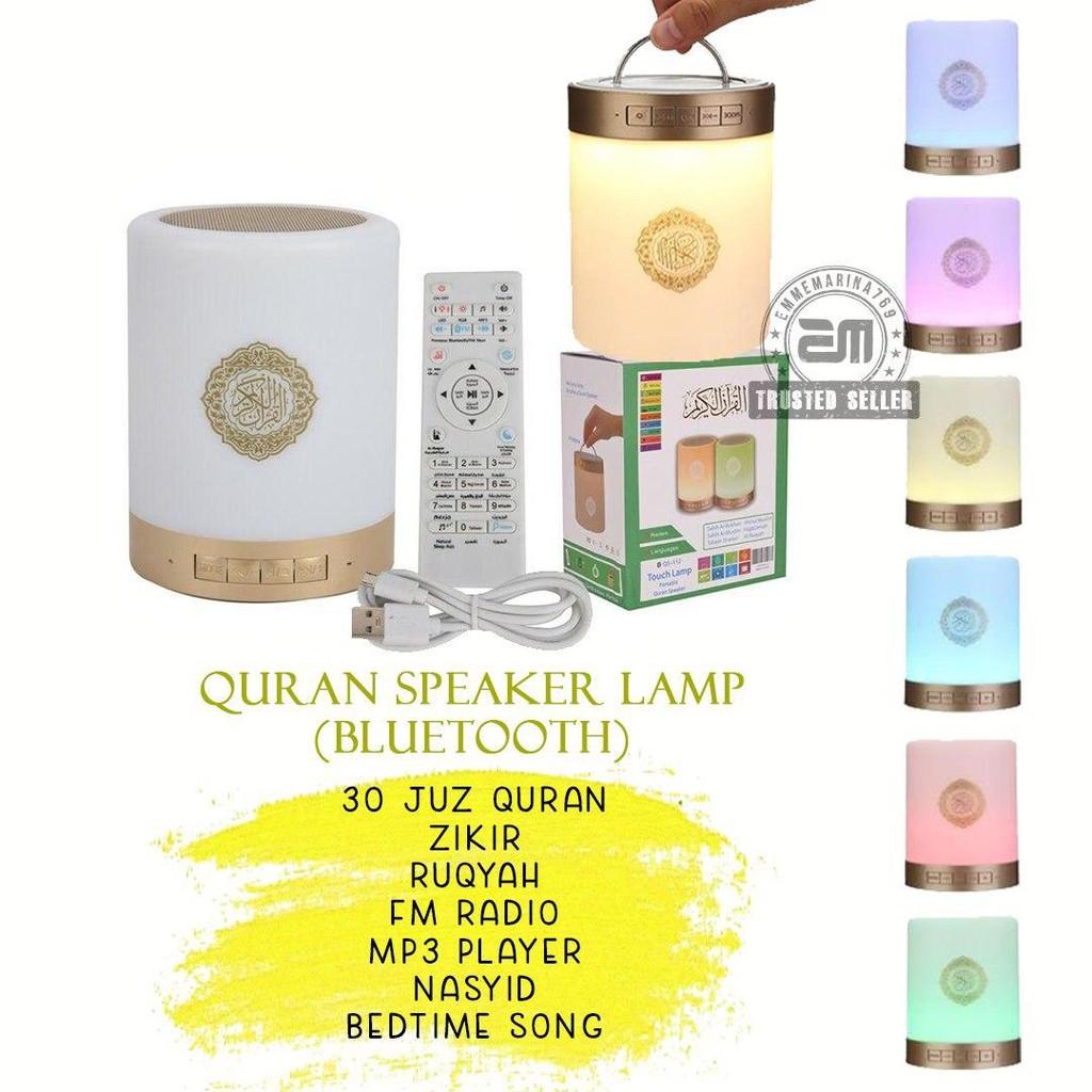 [READYSTOK] Radio Quran MP3 Speaker 30 Juzuk Ruqyah Zikir Dengan Lampu