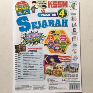 Buku Latihan Sejarah Tingkatan 4 New Shopee Malaysia
