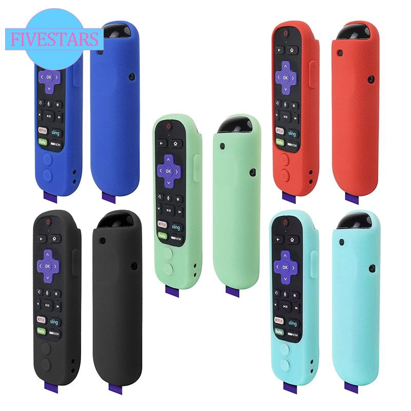 For Roku Ultra / Roku 4 3 2 1 Remote Silicone Shock Proof Case Cover  Lightweight
