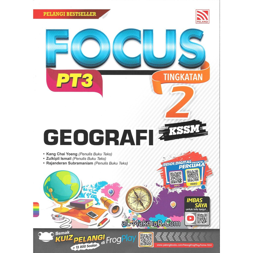 Myb Buku Rujukan Nota Focus Pt3 Kssm Geografi Tingkatan 2 Pelangi Shopee Malaysia
