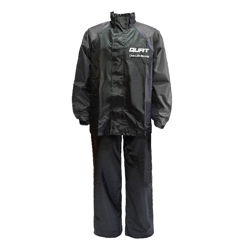 Raincoat QUAT Q22 Daily Range Baju Hujan Motorcycle (GREY)