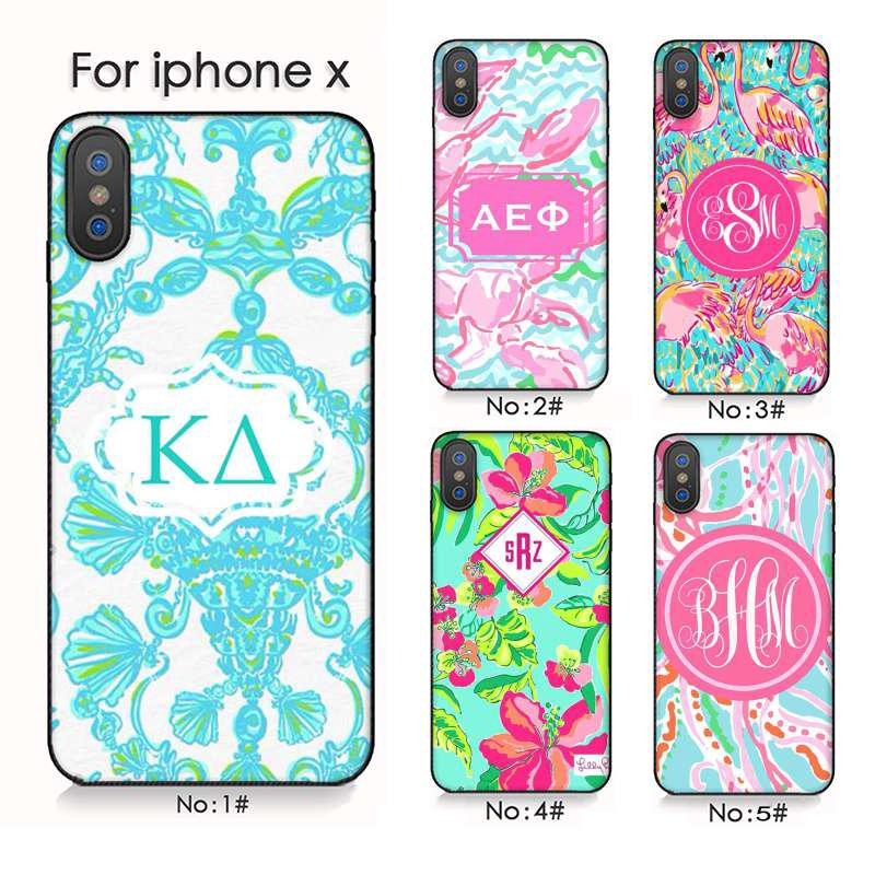c4a38c1ca0671 Lilly Pulitzer Summer flower Pink iPhone 6 7 8 Plus 5S XS Max XR ...