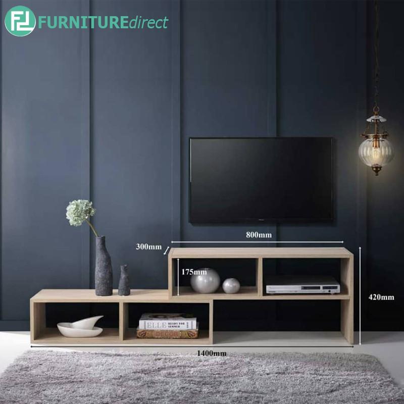 Furniture Direct FLEXIA Multipurpose TV cabinet display rack/ rak tv