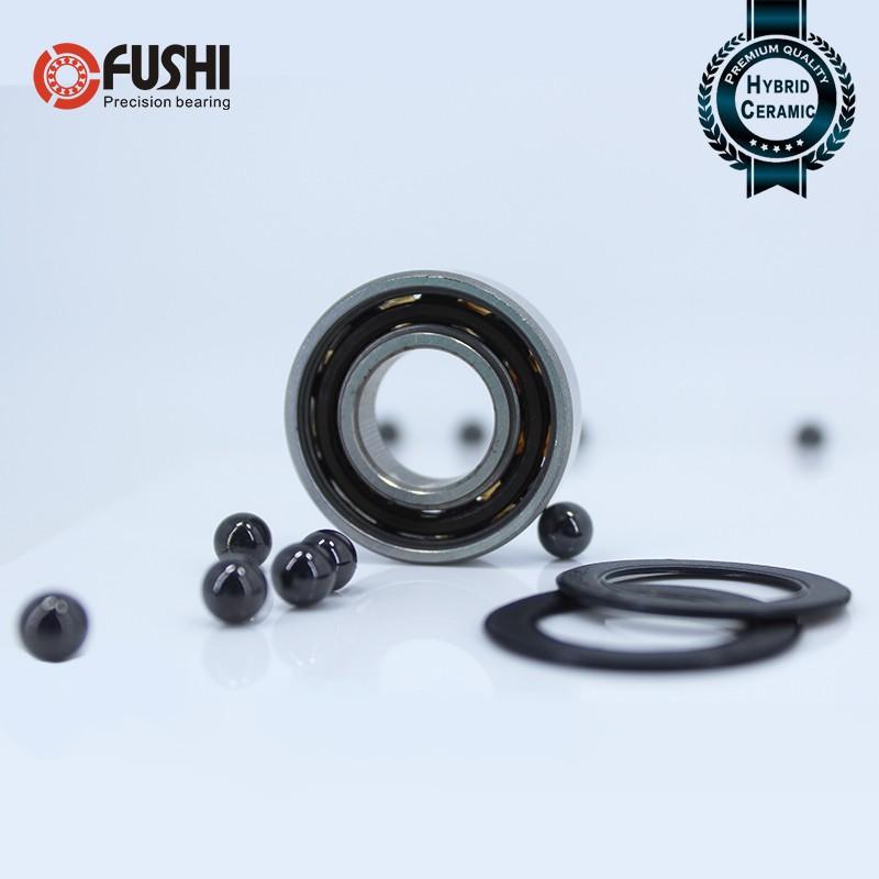 63/22 Hybrid Ceramic 63/22-2RS Bearing 22*56*15 mm 1PC Si3N4 22 56 15 Ball  Bearings 63/22RS 22mm
