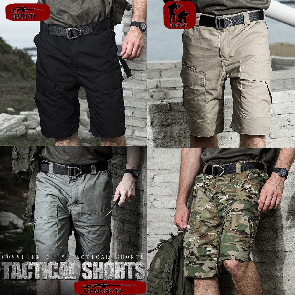 Outdoor Men/'s Travel Hiking Short Pants Military Cargo Camouflage Shorts