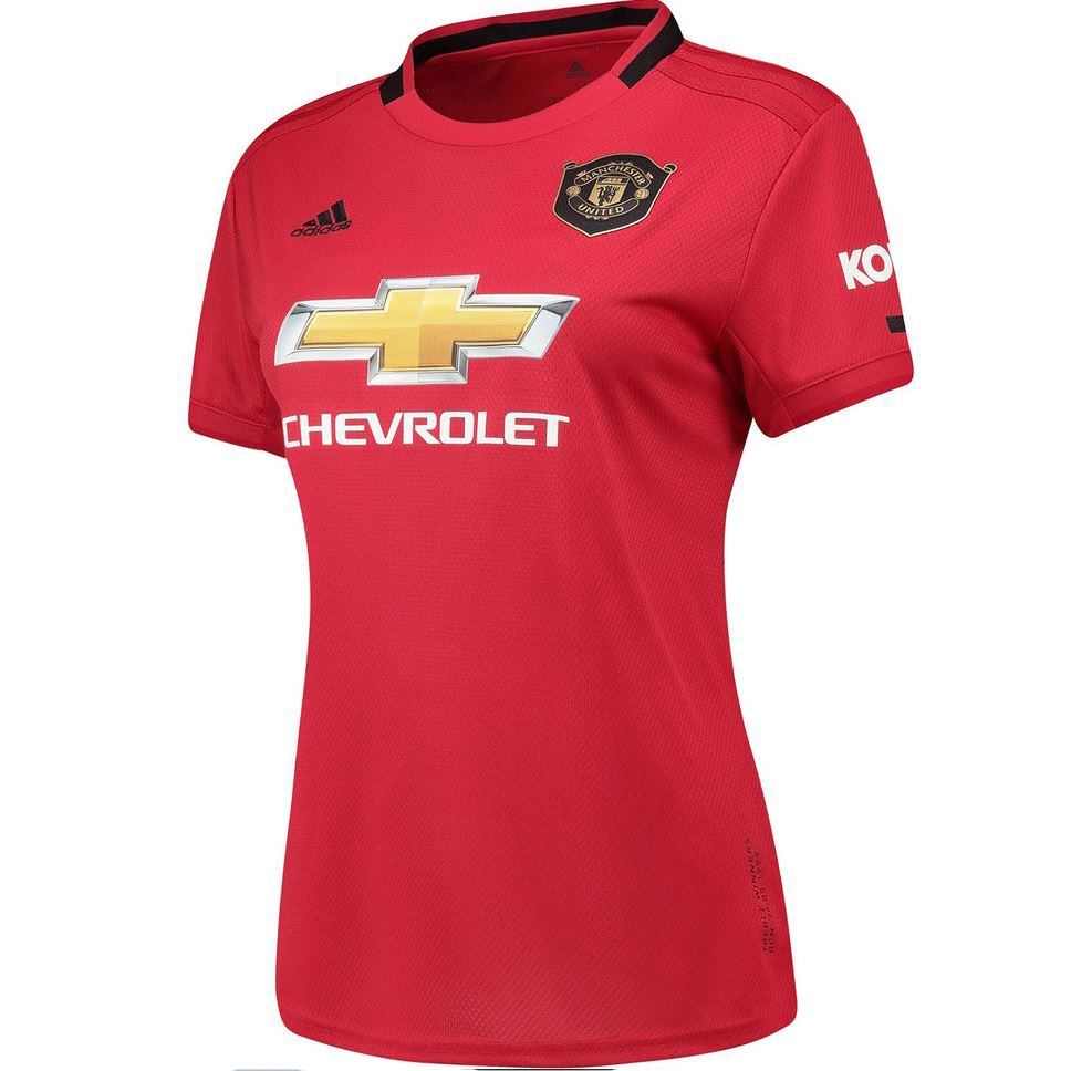 Manchester United 2019 2020 Home Red Jersey For Ladies Women Female Shopee Malaysia