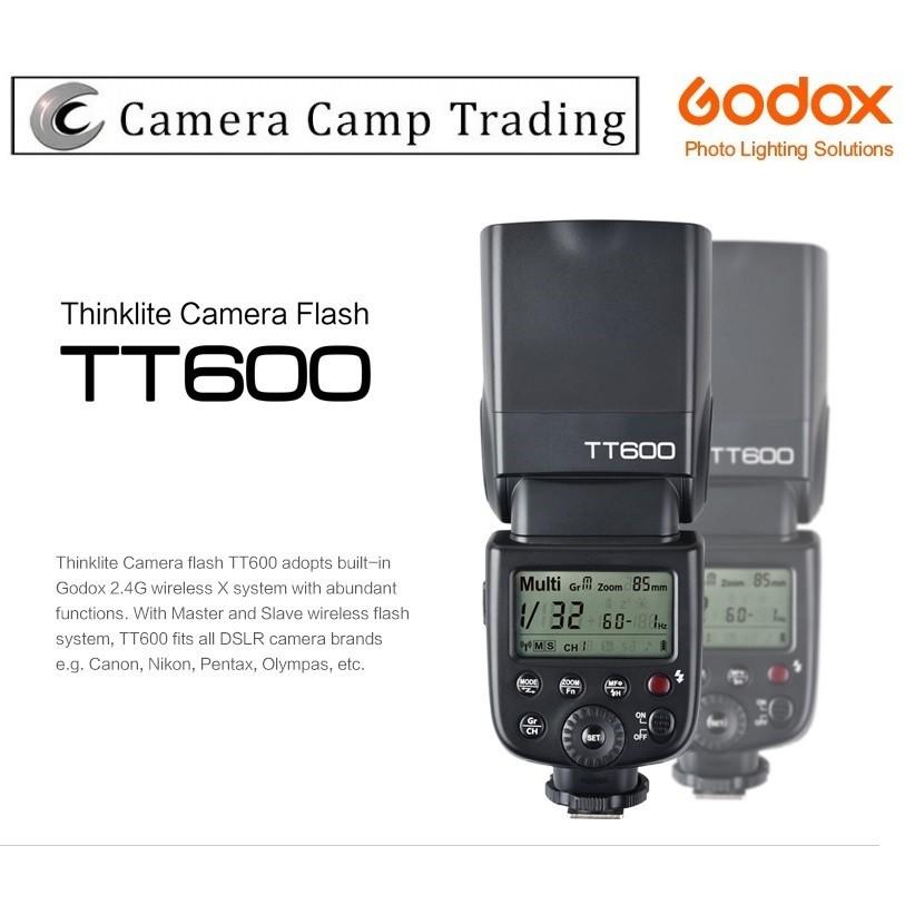 Godox Thinklite TT600 Camera Flash Speedlite Master//Slave Flash for Canon Nikon Pentax Olympus Fujifilm Compatible with AD360II-C AD360II-N TT685C TT685N Flash X1T-C//N Trigger