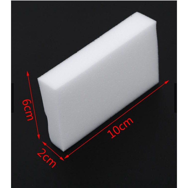 [READY STOCK] Magic Sponge 10*6*1.5cm (10pcs)