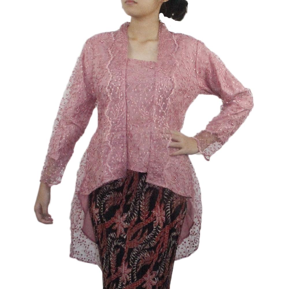Kebaya Peplum Rosy Batik Skirt Set
