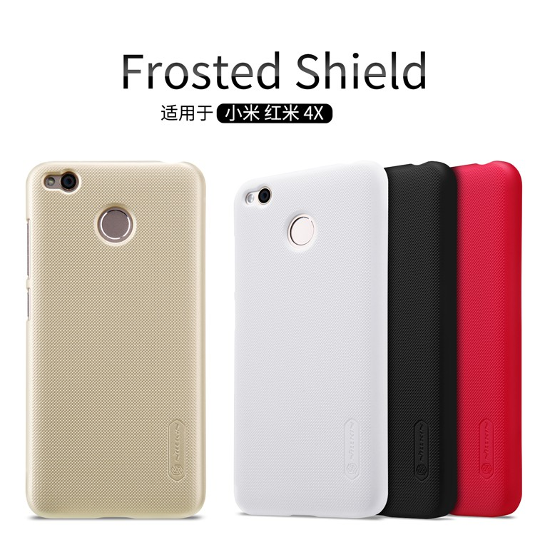 XiaoMi Redmi Note 2 3 4 4X Pro Nillkin Frosted Shield Case Cover | Shopee Malaysia