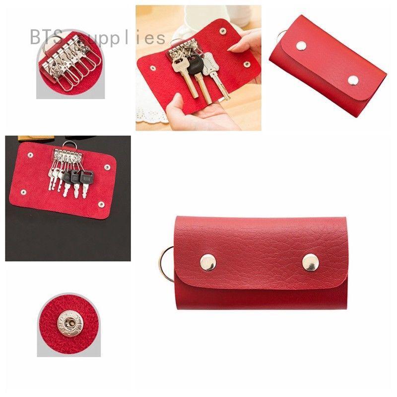 d86579556dcf Keys Wallet Bag Purse Case Holder Keyring Pouch Bag Key Safe Hanger ...