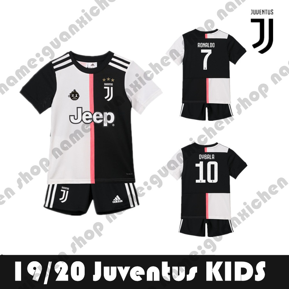 newest c9a03 19632 19-20 Juventus Football Soccer Jersey For Kids Children Boys And Girls