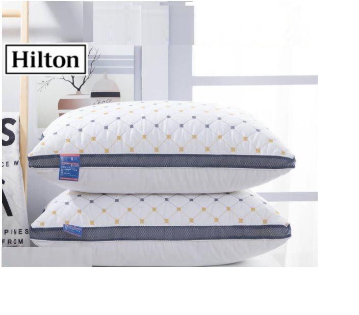 [READY STOK] KCJ Hilton five-star hotel feather velvet high pillow❤️PERCUMA BAG HILTON❤