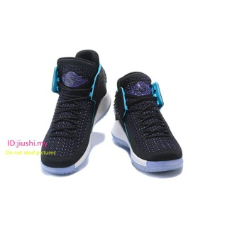 ea6aa7e4d133a5 ... 2017 Hornets Air Jordan 32 XXXII CEO AA1235-003 Black Teal White. like   0