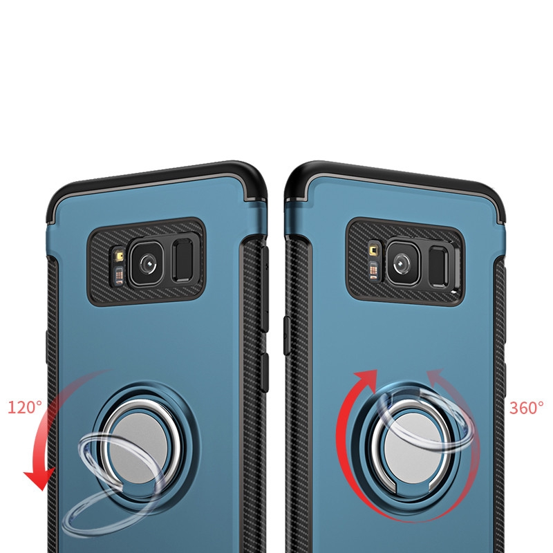 ProductImage. ProductImage. Samsung Galaxy S9 Plus Magnetic Car Holder Finger Ring Stand Soft Silicon Case