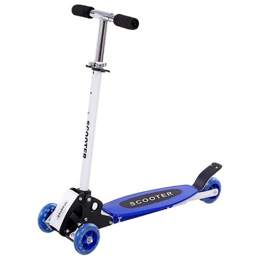 Warbase Young Style Foldable Wheel Balance Kick Scooter