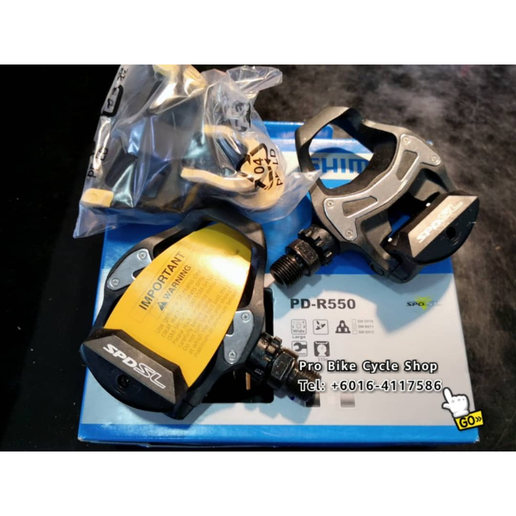 Shimano SPD SL R550 Cleat pedal  <included cleat set>