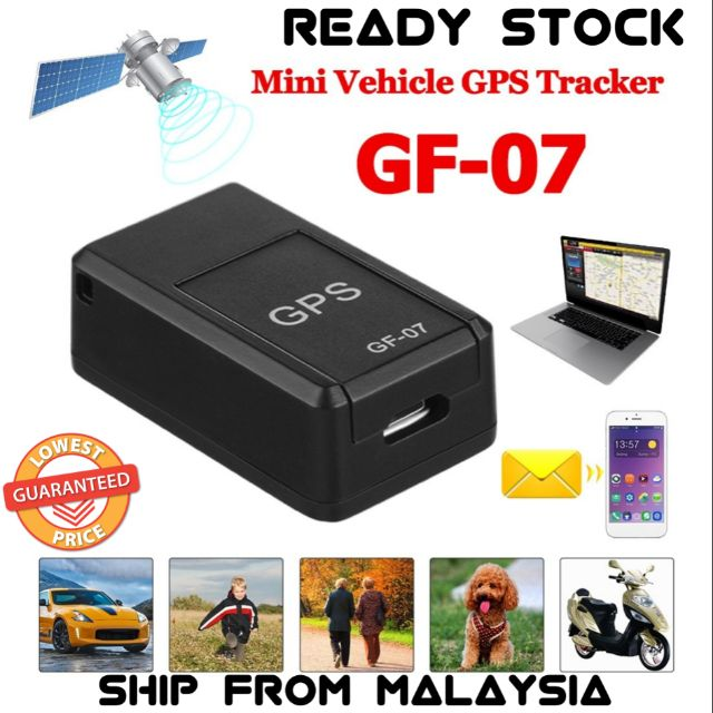 Magnetic Mini Vehicle GPS Tracker GSM GPRS Real Time Tracking Device