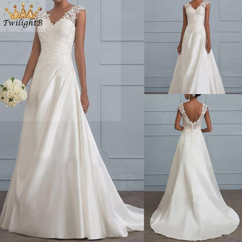 Elegant Plus Size Bridesmaid Cocktail Casual Womens Ladies Long Gown Sleeveless V Neck Solid Color Party Prom Sexy Dress Shopee Malaysia,New York City Hall Wedding Dresses