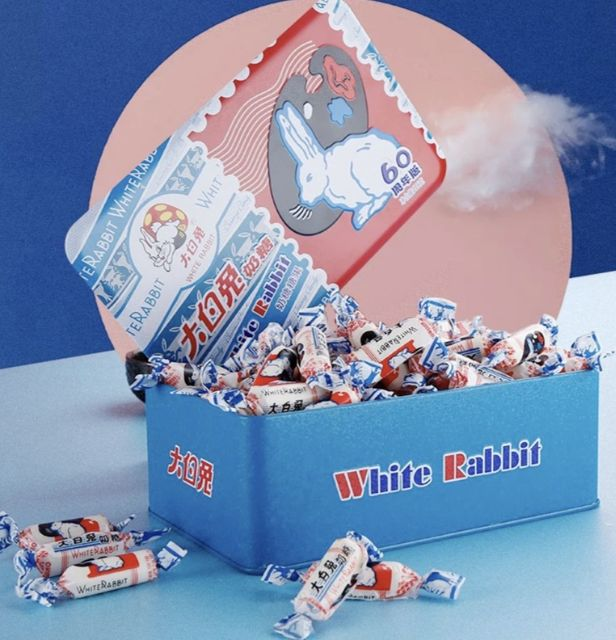 🆕💯👍🍬White Rabbit Creamy Candy 228g🍬
