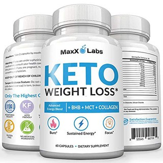 Keto Diet Pills Exogenous Ketones Supplement Advanced Weight Loss For Women Men With Best Ketogenic 60 Capsules