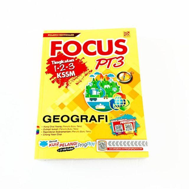 Malaysia Discount Focus Pt3 Geografi Tingkatan 1 2 3 Kssm 2019 Penerbitan Pelangi Hot Deal Only Rm24 91