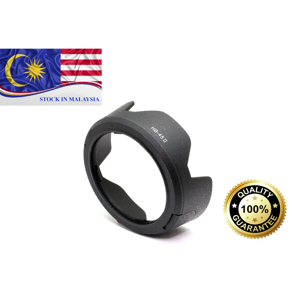 HB45II HB-45 II Flower Lens Hood For Nikon AF-S DX 18-55mm VR (Ready Stock In Malaysia)
