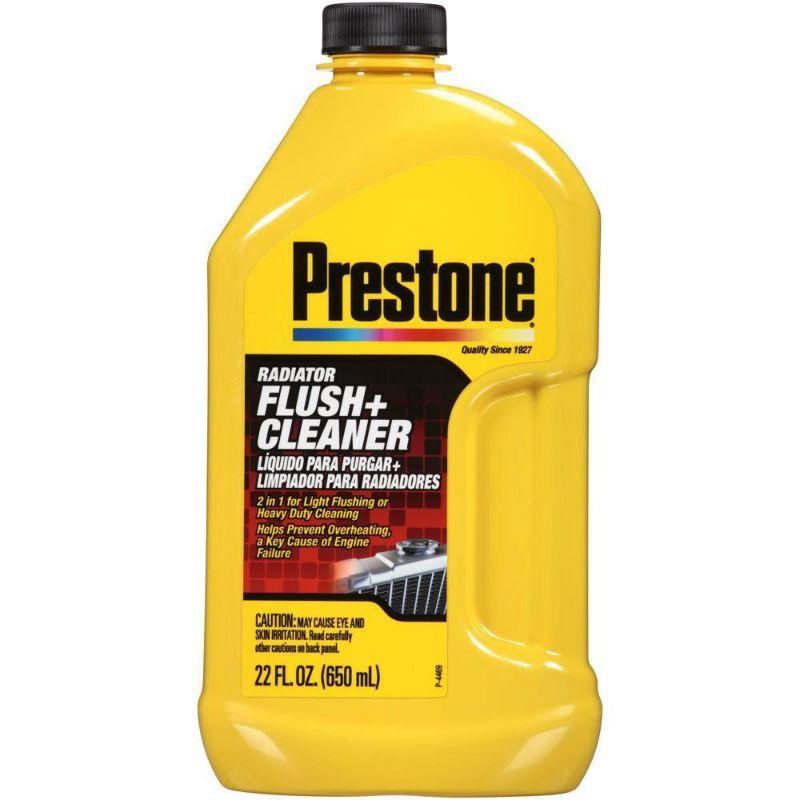 100 PRESTONE US RADIATOR FLUSH + CLEANER - 650ML Free Gift