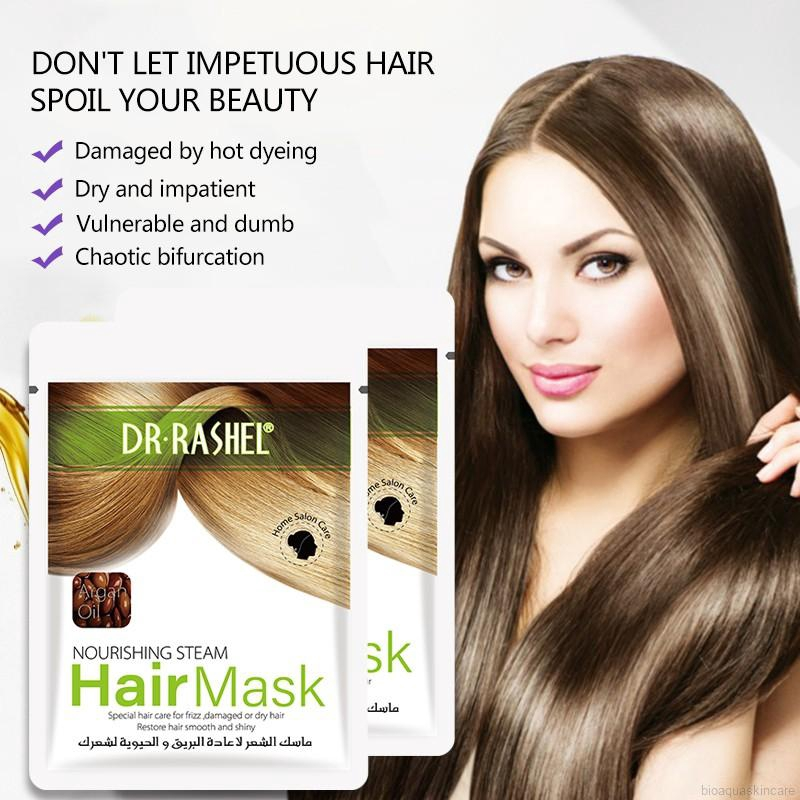 DR·RASHEL Glycerol Hair Mask Steam Free Hair Mask Nourishing Soften Hair |  Shopee Malaysia