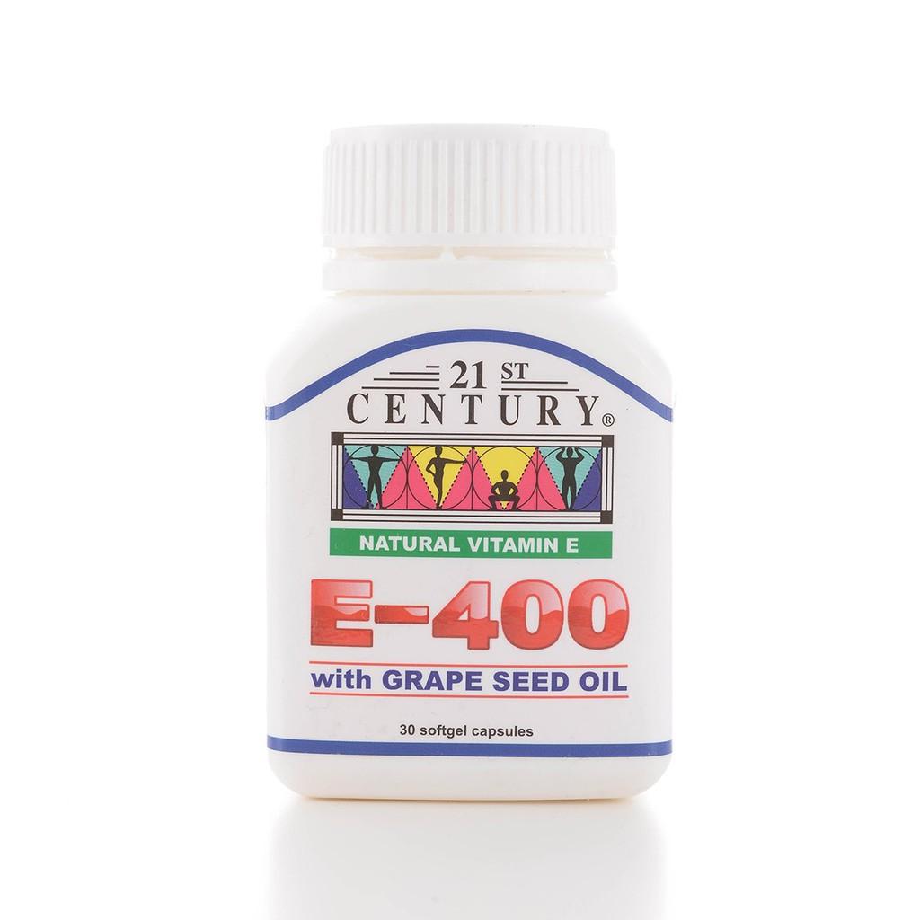 21st Century Vitamin E 400 30\'s (03/21)