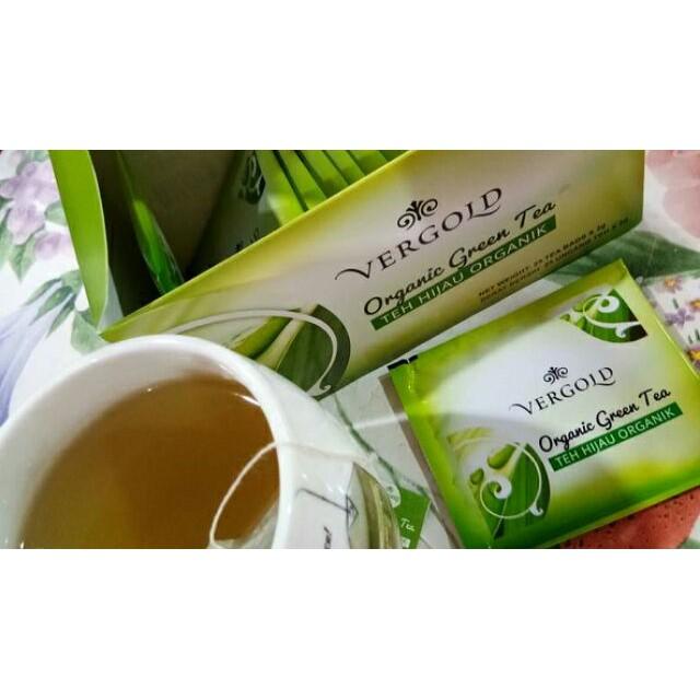 AMWAY Vergold Organic Green Tea 有机绿茶 (2g x 25 sachets)