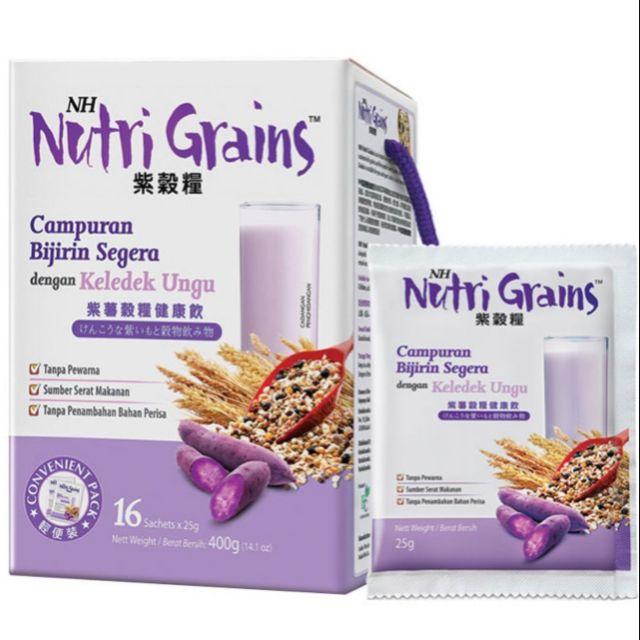 NH Nutri Grains (16 Sachets x 25g) Exp: 05/2021