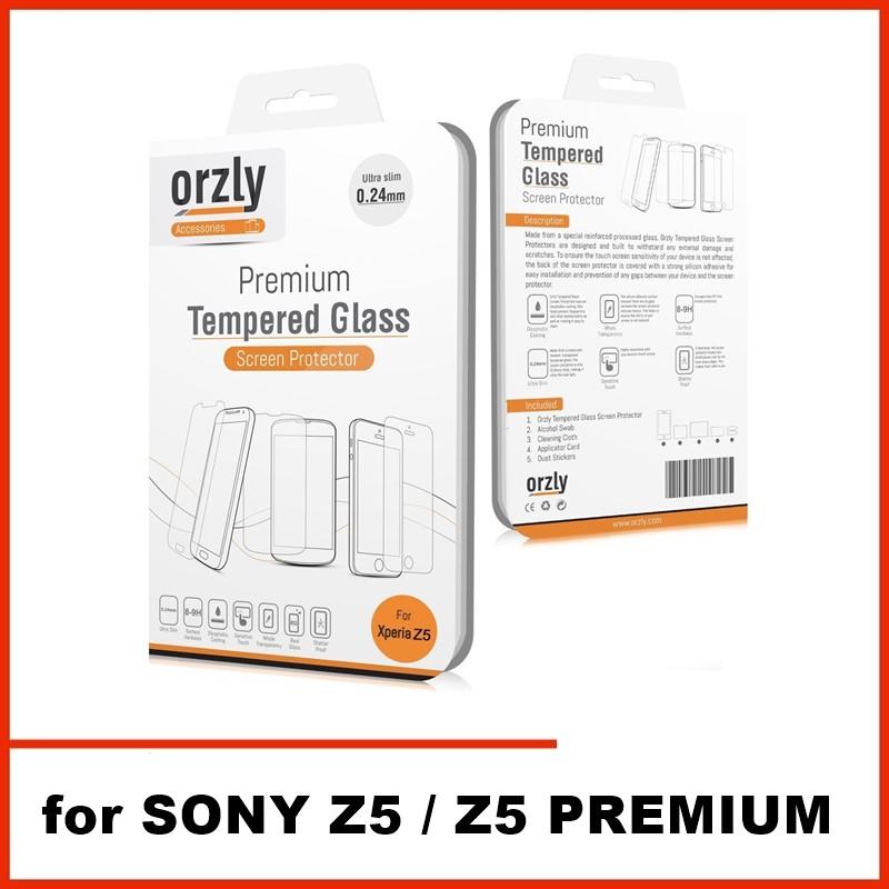 ORIGINAL ORZLY TEMPERED GLASS SONY XPERIA Z5 / Z5 PREMIUM | Shopee Malaysia