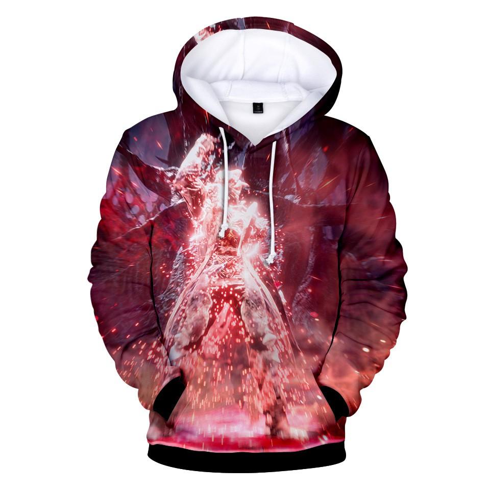 Devil May Cry 5 3D digital printed game Anime Unisex hoodie sweater Coat Cosplay