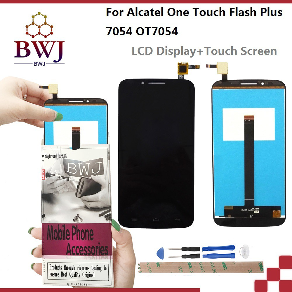 For Alcatel one touch Flash Plus OT7054 LCD display + touch screen + tools