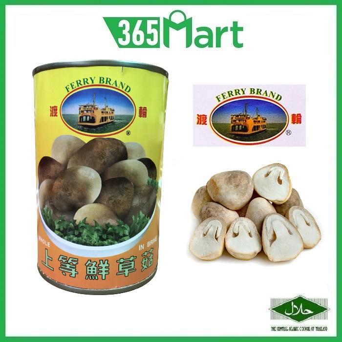 FERRY BRAND Straw Mushroom Whole in Brine 425g HALAL by 365mart 365 Mart