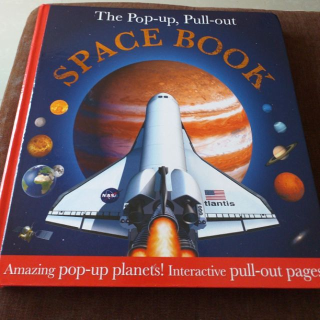 หนังสือเด็กภาษาอังกฤษแบบ Popup ชื่อ THE POPUP, PULL-OUT SPACE