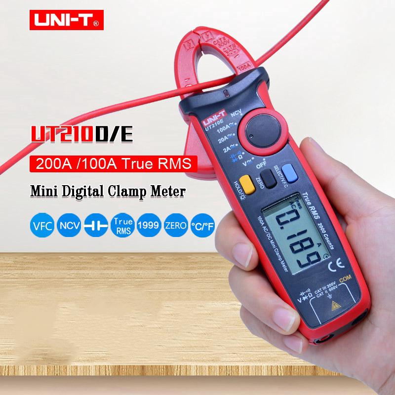 UNI-T Digital Clamp Meter UT213C UT213B UT213A True RMS Multimeter