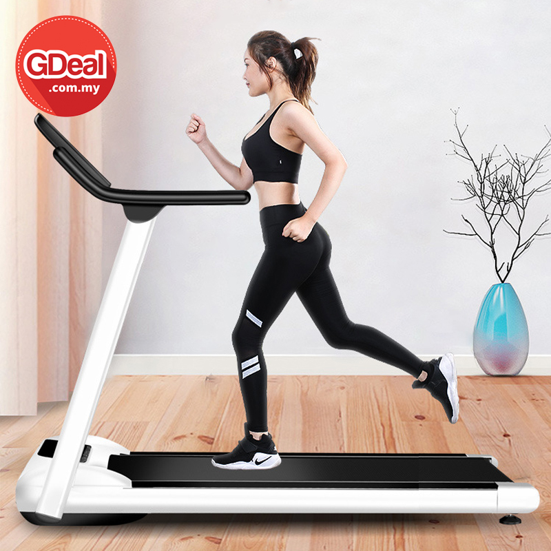 GDeal Multifunctional Variable Speed Running Folding Electric Treadmill Fitness Equipment